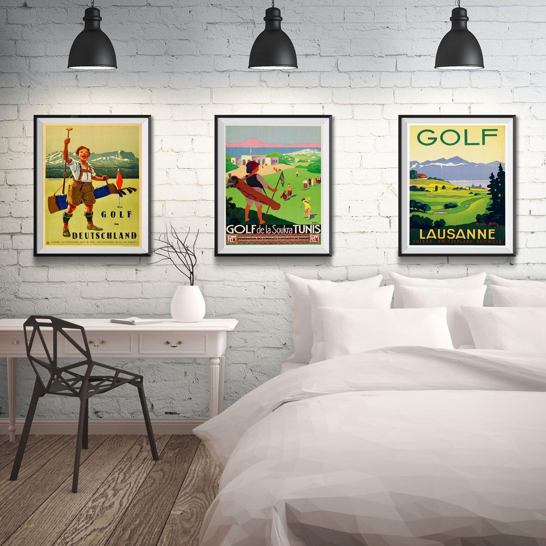 Golf Wall Art