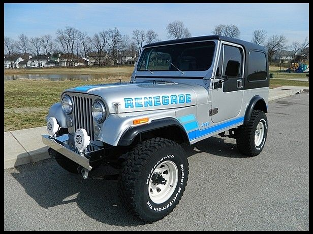 1983 Jeep Cj 7 Renegade Maintenance Restoration Of Old Vintage Vehicles The Material For New Cogs Casters Gears Pads Could Be Cast Jeep Cj Jeep Classic Jeeps