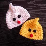 Very easy free crochet pattern for the chicken hat will help you to make  this easter hat fast. 8eb053e0146