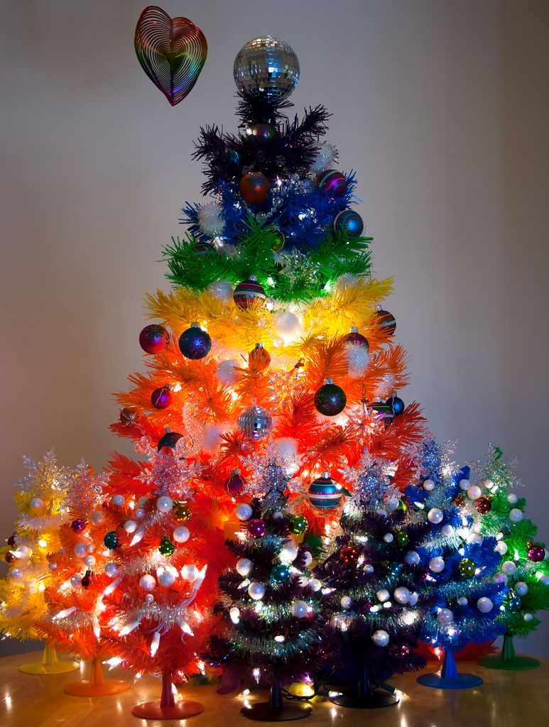 Little Rainbow Trees I Love This Colorful Christmas Tree
