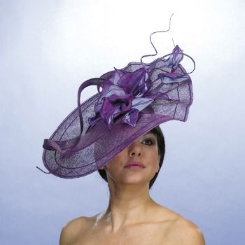 e1b1a5ee1bbe1 Tips for Choosing Wedding Hats and Fascinators. A good hat for short to  mid-length hair. The Mitzioni