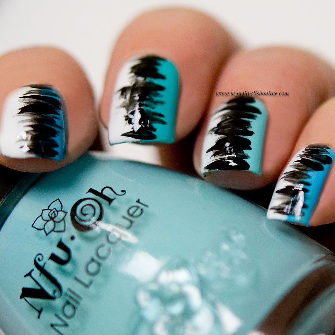 Abstract Nail Art | Abstract nail art, Dope nail designs and Gel ...