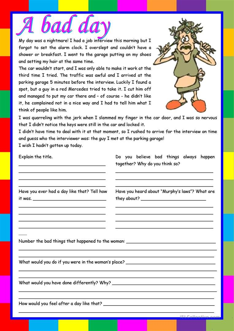 present simple texts for reading pdf