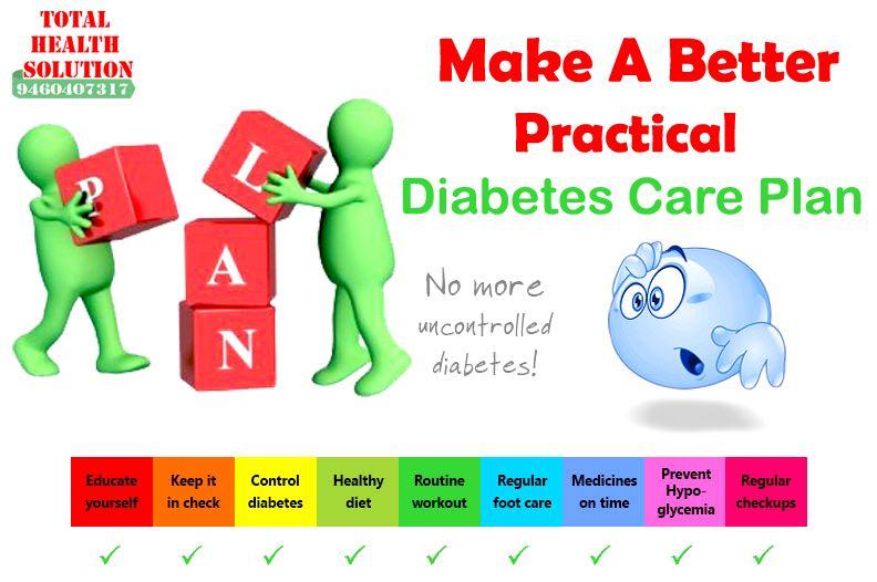 Make A Batter #Practical #Diabetes care #plan THS-Diabetec Care - care plan