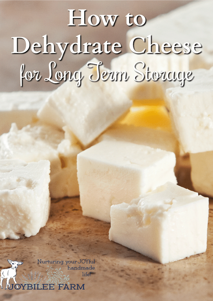 How to Dehydrate Cheese for Long Term Storage