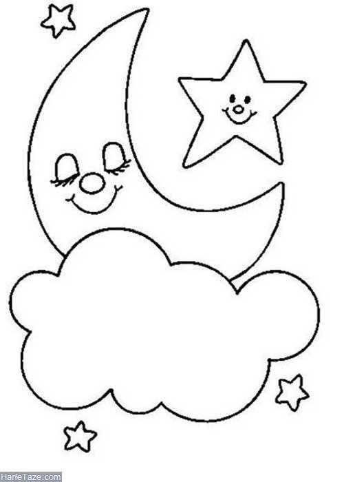 نقاشی ستاره بزرگ