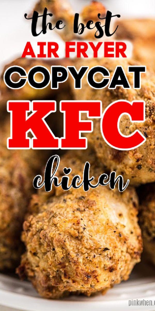 Air Fryer Copycat KFC Chicken