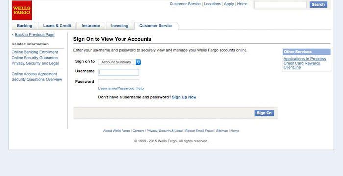 Wells Fargo Mortgage Login Online Wellsfargo Com Wells Fargo