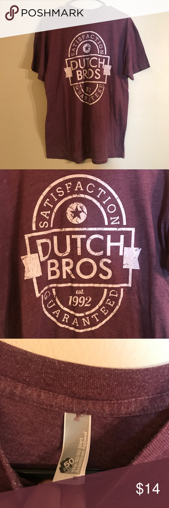 Purple Dutch Bros Satisfaction Guaranteed Tee Great condition. Dutch Bros Tops Tees - Short Sleeve #dutchbros Purple Dutch Bros Satisfaction Guaranteed Tee Great condition. Dutch Bros Tops Tees - Short Sleeve #dutchbros Purple Dutch Bros Satisfaction Guaranteed Tee Great condition. Dutch Bros Tops Tees - Short Sleeve #dutchbros Purple Dutch Bros Satisfaction Guaranteed Tee Great condition. Dutch Bros Tops Tees - Short Sleeve #dutchbros