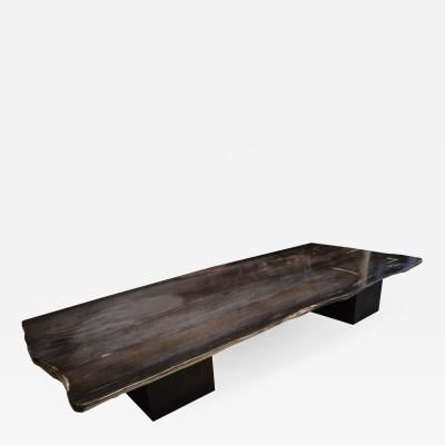 Best Super Smooth Petrified Wood Coffee Table Or Dining Table 400 x 300