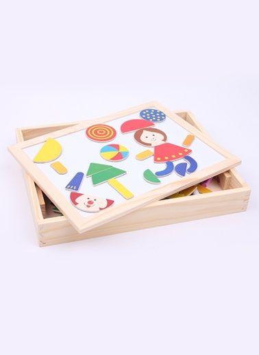 Learning Toys Ahşap Oyuncakları SAG01 Magnetism Jigsaw Happy Renkli | Morhipo.com