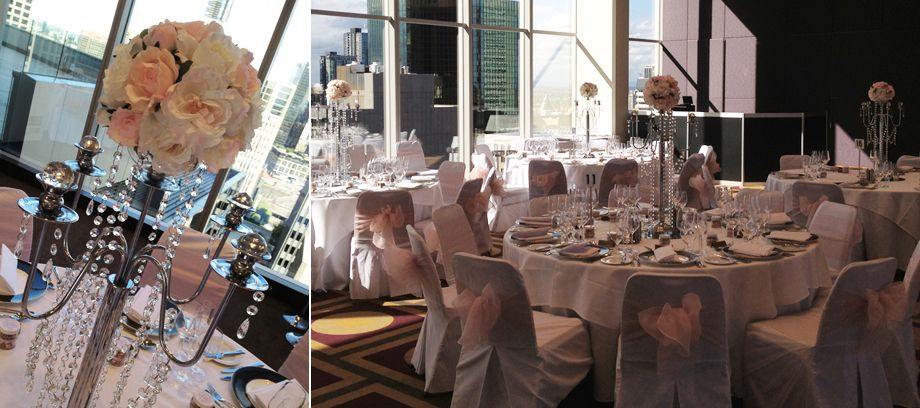 wedding candelabra melbourne crystal centrepieces table centre hire victoria arches dry ice. Black Bedroom Furniture Sets. Home Design Ideas