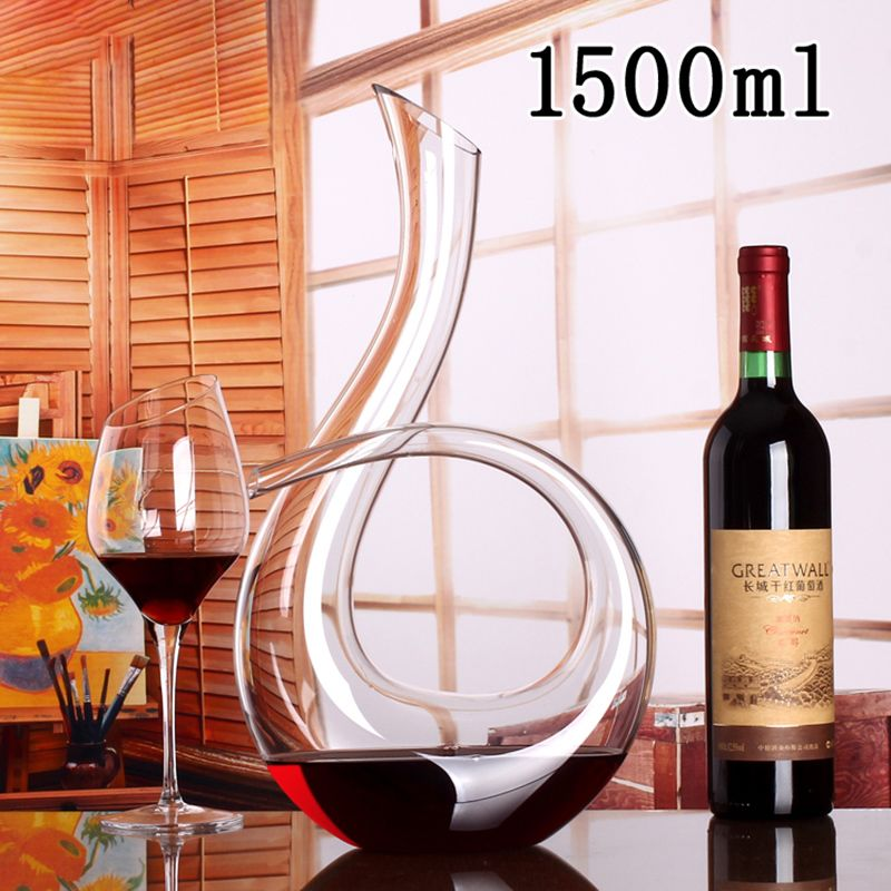 Red Wine Decanter And Glass Set