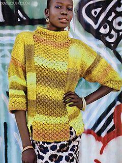 #24 Trinity Stitch Tunic by Valentina Devine Noro Knitting Magazine #01, Fall 2012