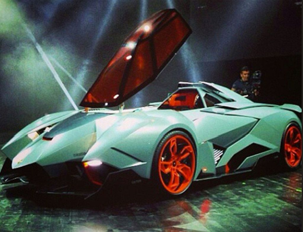 Lamborghini Egoista Concept Image Luxury Supercar Weekend