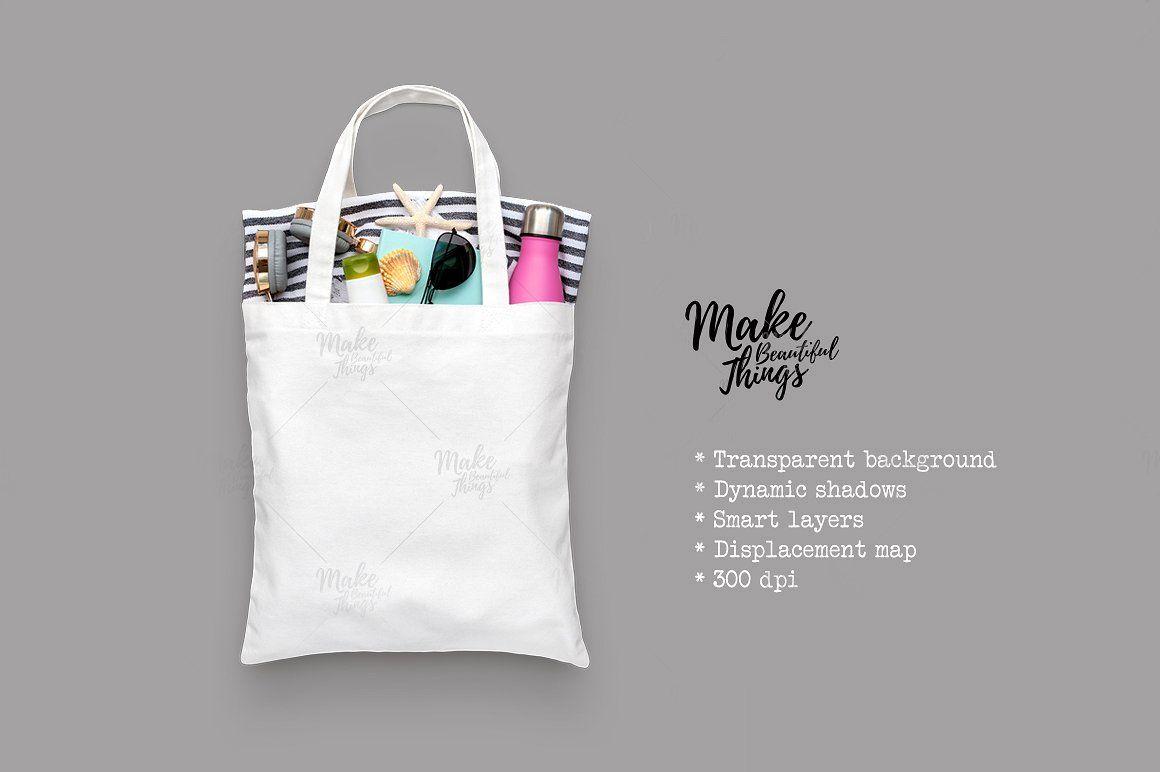 Download Isolated Canvas Tote Bag Mockup Bag Mockup Tote Bag Bags