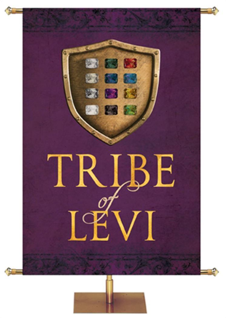 Tribe Of Levi Embellished Banner Con Imagenes Bandera De