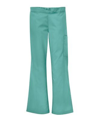 fe3b3791692 Butter-Soft Scrubs by UA™ Women's Front Crossover Waistband Pant in Mint  Condition - Style # UA56C #uniformadvantage #uascrubs #medicalscrubs