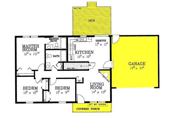 St Albans Ranch House Plans