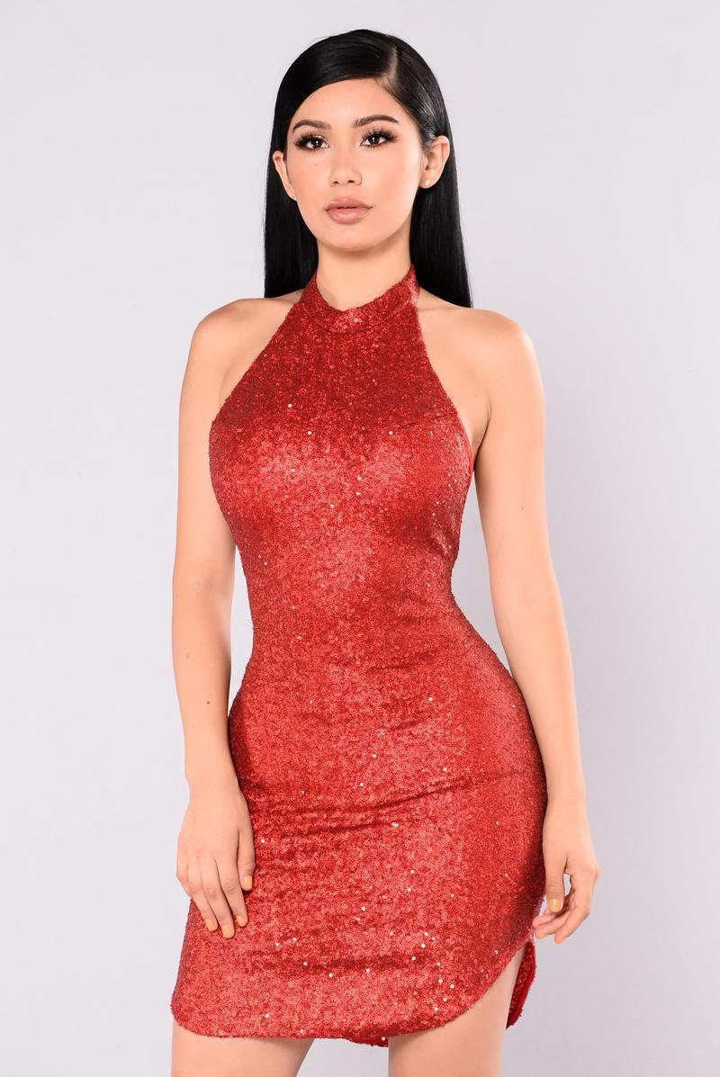 Dancing Away Sequin Dress Burgundy Fashion Dresses Tight Dresses Fashion Nova Dress
