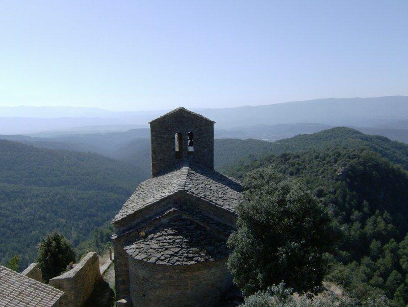 Iglesia de Santa Cecilia en el Castillo de Fantova