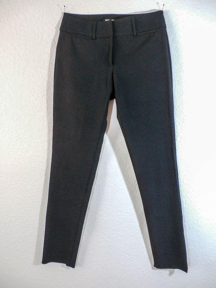 Mr. CAT BY ISABEL DE PEDRO Sz 8 BLACK ANKLE LENGTH SKINNY LEG PANTS #IsabeldePedro #Skinnyleg
