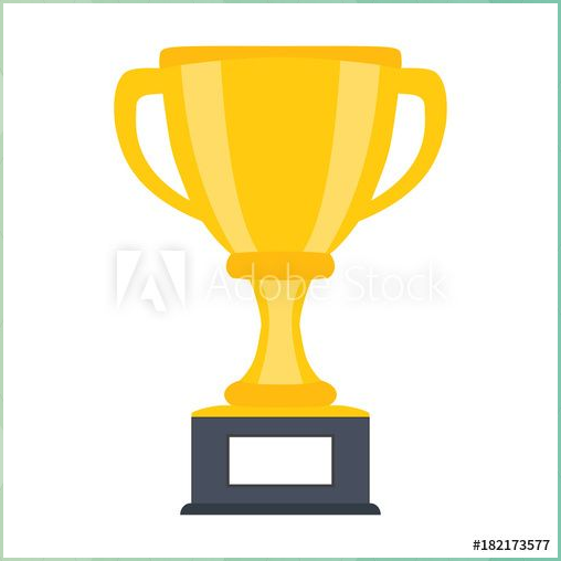 Trophy Cup Award Vector Icon In Flat Style Farmhouse Lamps Trophy Cup Award Vector Icon Flat Style F Flat Design Icons Eclectic Design Vector Icons