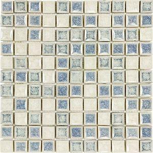 small crushed glass mosaic possibility   glass mosaic