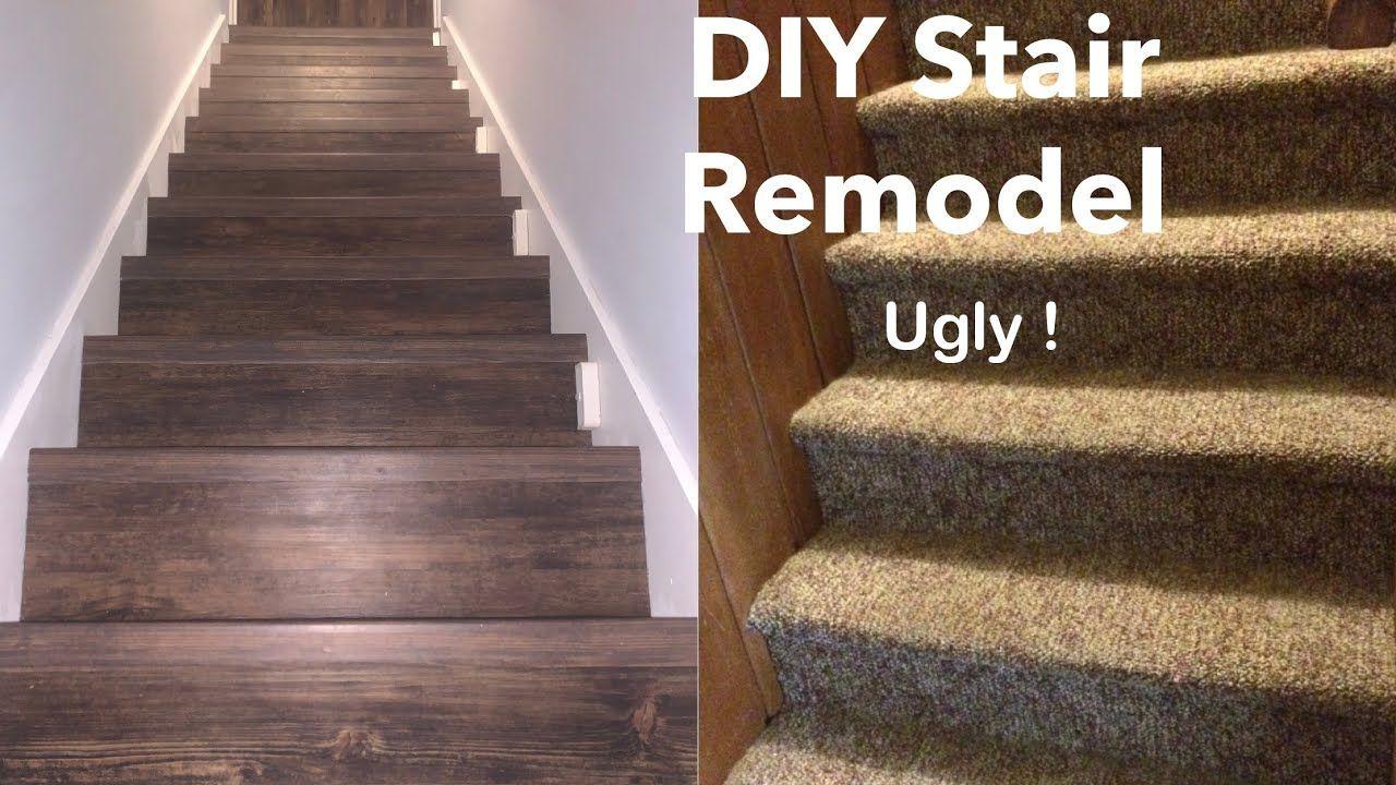 How To Install Vinyl Plank Or Laminate, Vinyl Laminate Flooring On Stairs
