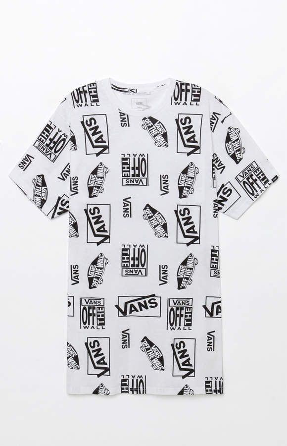 5fe8b9307f Vans Mixed Logo T-Shirt