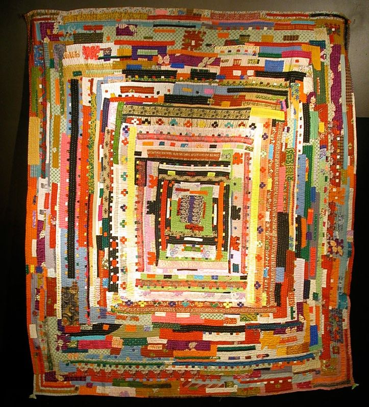 patchwork quilt by Africans in India (Siddi community)