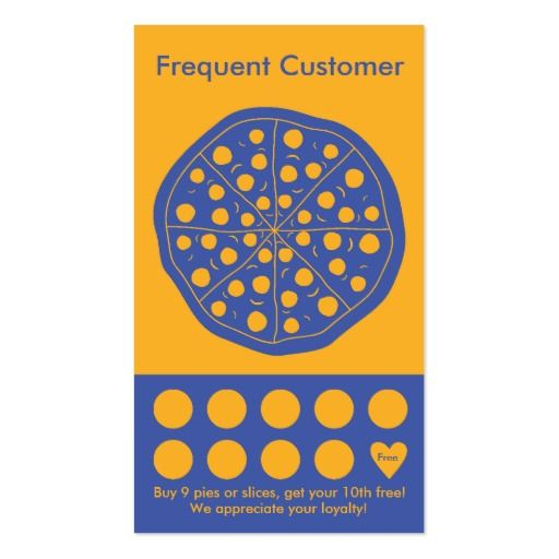 Pizza Loyalty Business Card Stamp Card Zazzle Com In 2021 Loyalty Card Template Customer Loyalty Cards Stamped Cards