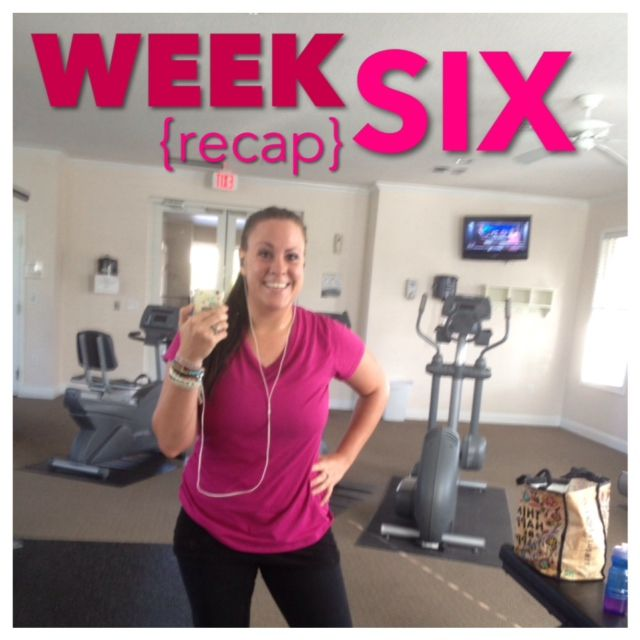 Jamie Eason Live Fit Challenge {Week 1} - Made with Love