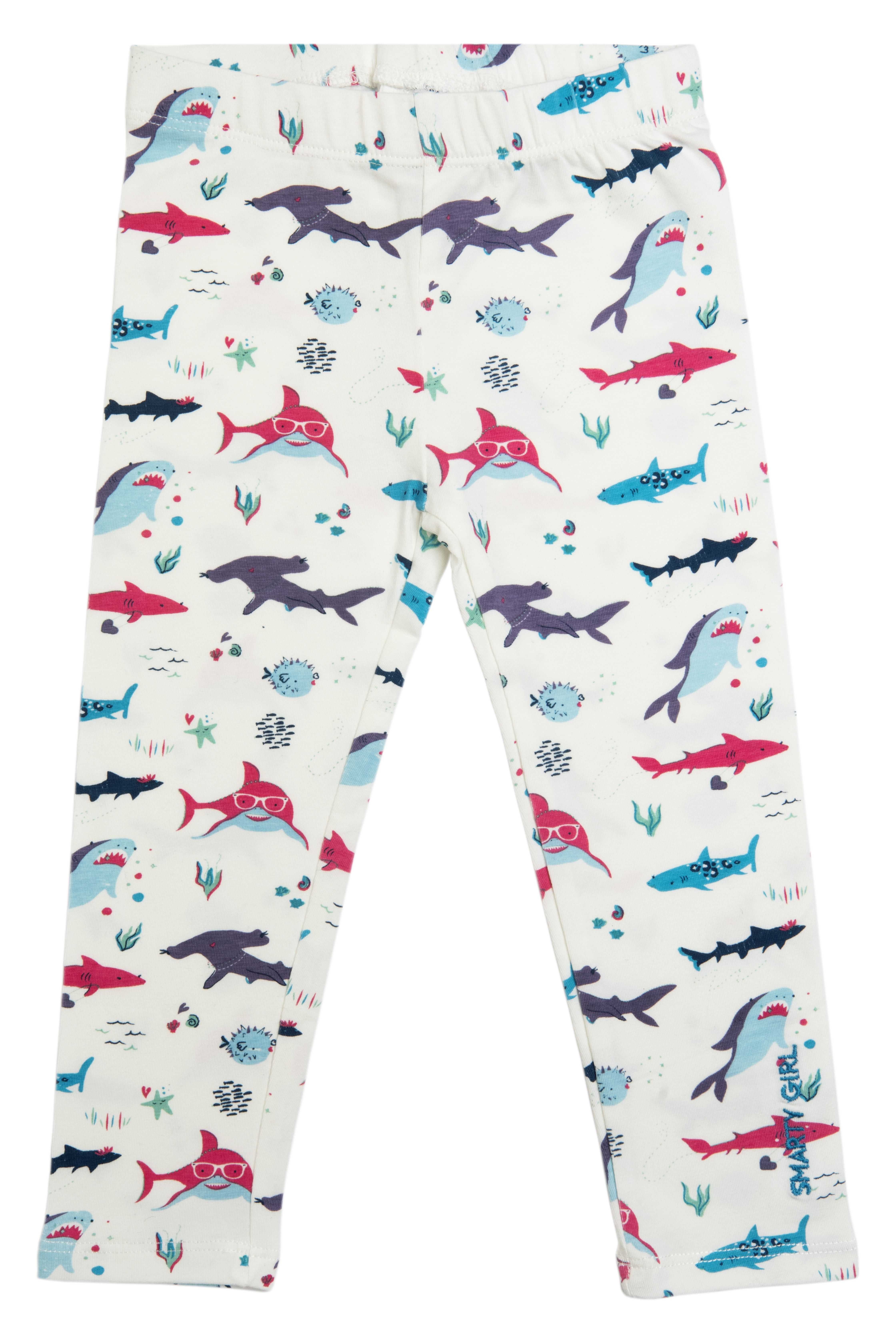 f7ddde739 because girls like sharks, too! shark leggings for toddler girls by Smarty  Girl. great for a girl's underwater themed birthday party. keywords: science,  ...