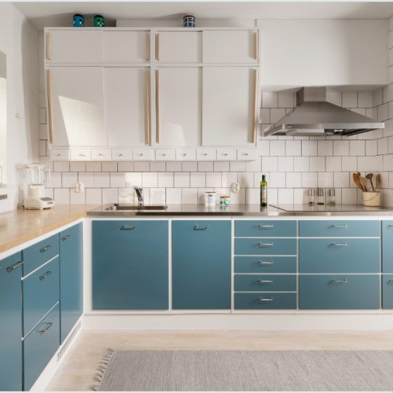 Neljä Seppää - 50-luvun keittiö Cocinas, Küchen, kitchen - küchen im retro stil