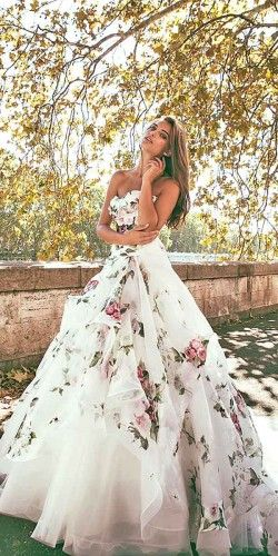 wedding dresses with flowers 10