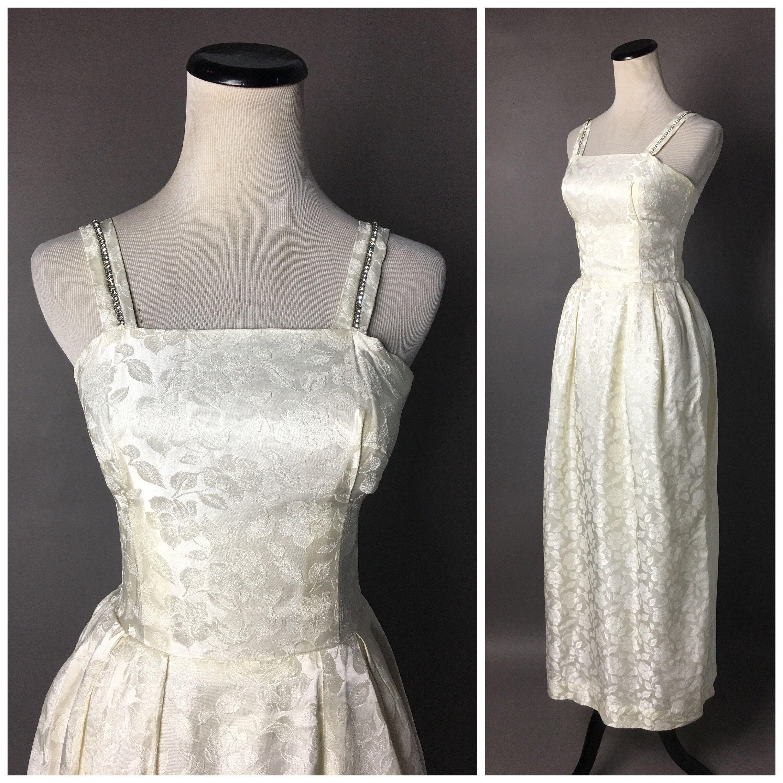 Vintage 60s Wedding Dress 1960s Wedding Dress Prom Dress Wedding Dress Ivory Dress Co Cocktail Dress Wedding Wedding Dresses 60s Ivory Wedding Dress [ 3000 x 3000 Pixel ]