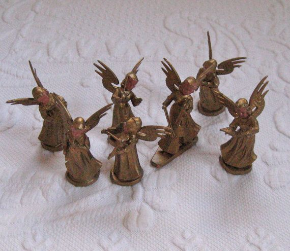 Angel Orchestra Christmas Decoration by vintagous on Etsy