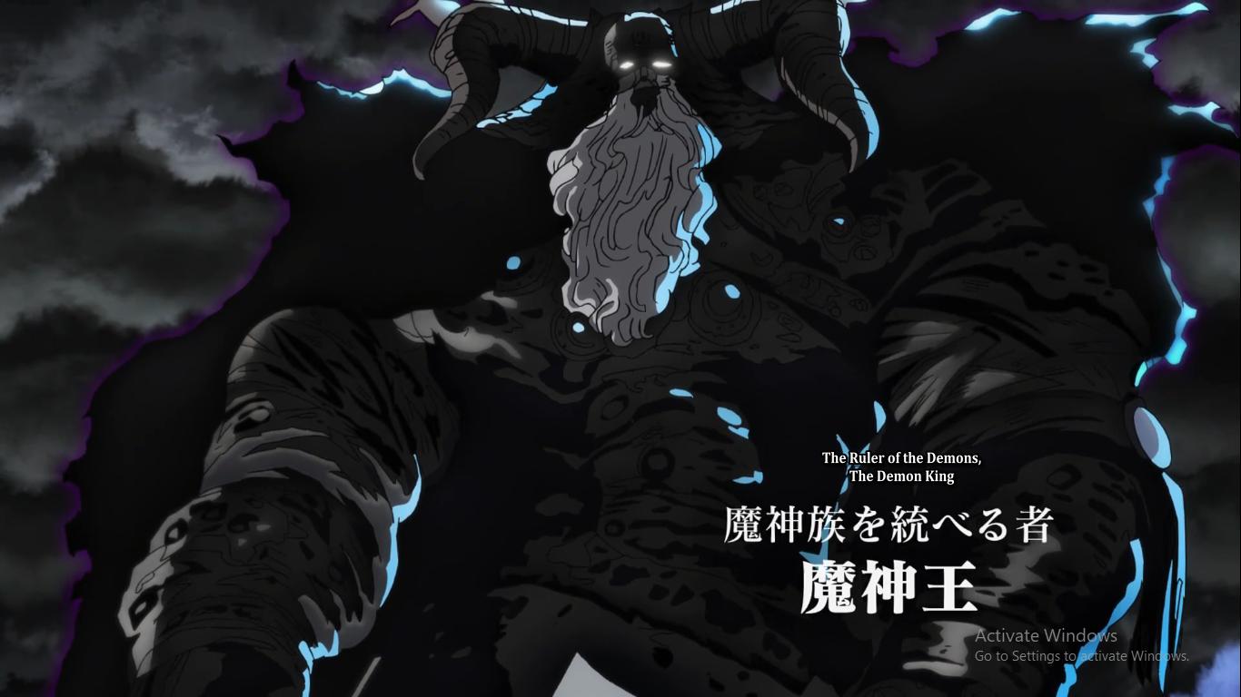 Pin by A.A on nanatsu no taizai Demon, Demon king, Poster