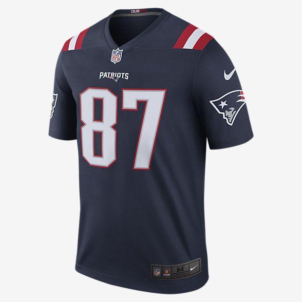b35fd7246 NFL New England Patriots Color Rush Legend (Rob Gronkowski) Men s Football  Jersey