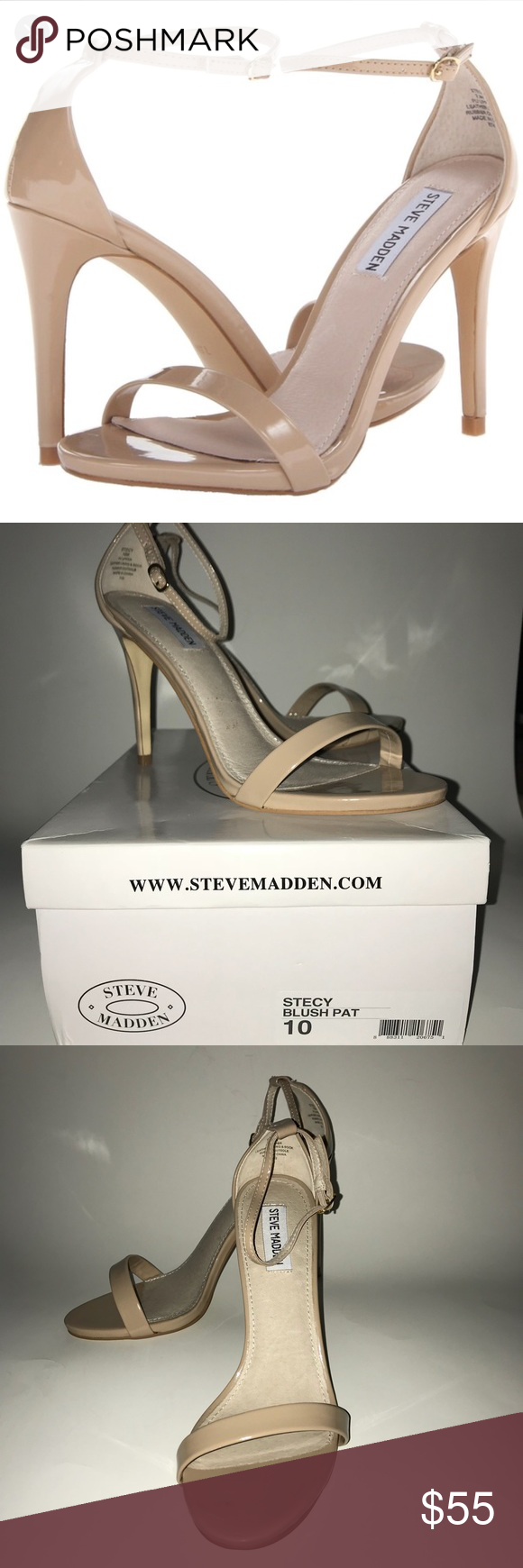 e2daee8f0dd Steve Madden Stecy Blush Patent Heel Gorgeous, sleek and stylish ...