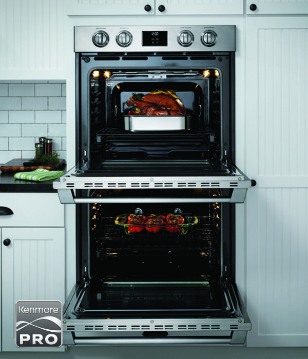 The Tough Thing About The New Kenmore Pro Double Wall Ovens Will Be Picking Which One Is Your Favori Wall Oven Kitchen Inspirations Double Wall Oven