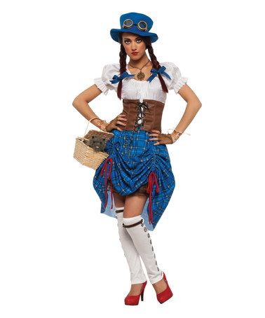 Another great find on #zulily! Steampunk Dorothy Costume Set - Women #zulilyfinds