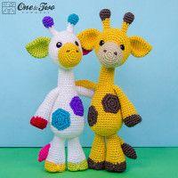 Stripy Giraffe amigurumi pattern | Giraffe crochet, Crochet toys ... | 200x200