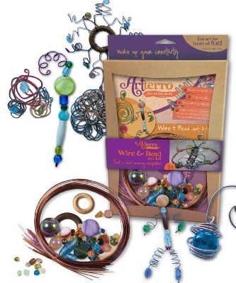 Artterro Wire and Bead Art Kit:Amazon:Toys & Games
