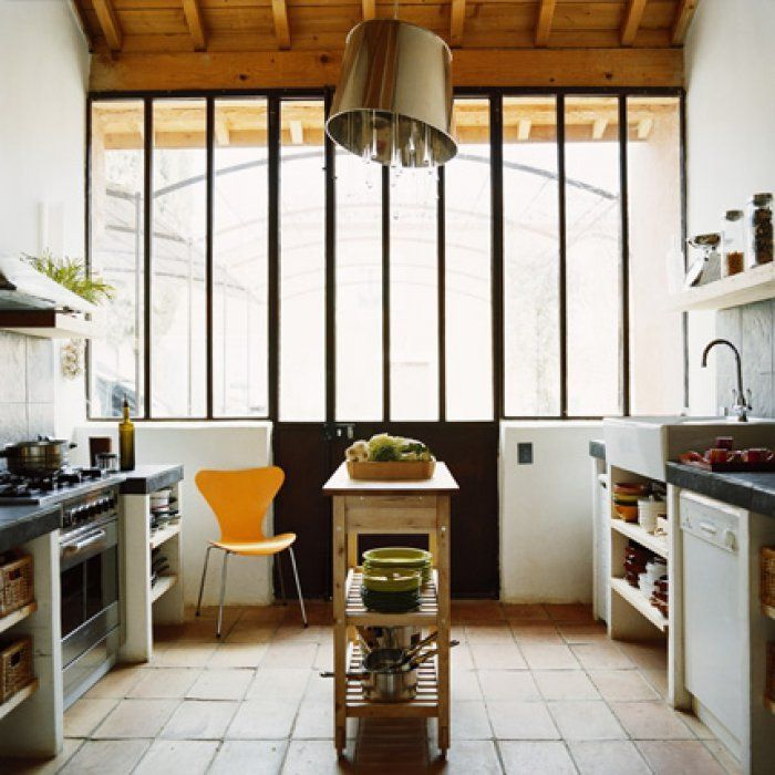 Kitchen Impossible Idee: Protéger Un Sol De Terre Cuite