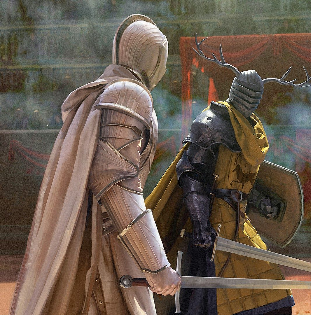 Ser Duncan The Tall In Trial By Combat By Chasestone Deviant Art