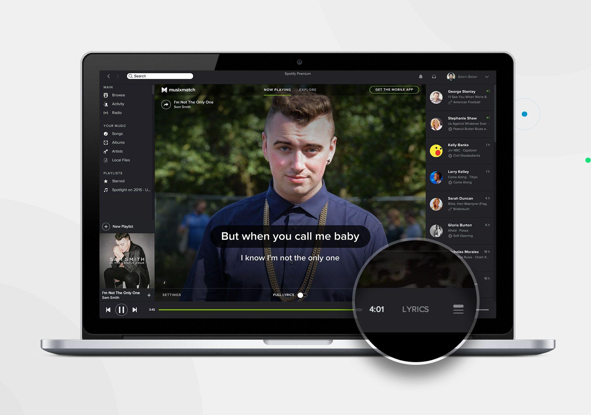 Introducing Musixmatch Lyrics Button on Spotify