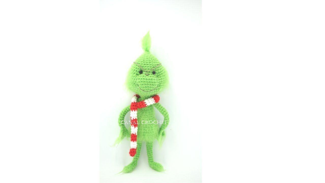 Grinch amigurumi tutorial - YouTube   muñeca tejida   Pinterest ...