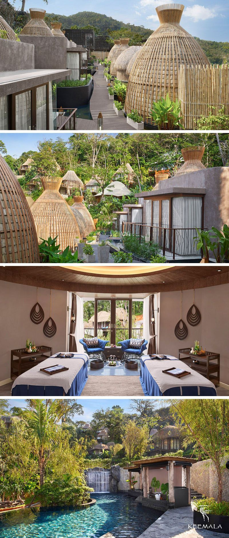 Travel Idea This Resort Is Surrounded By Trees And Was Inspired By Four Fictitous Clans Resort Architecture Resort Hotel Design Resort Design
